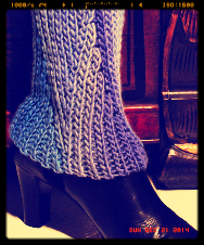 Slip Slope Boot Topper FREE pattern