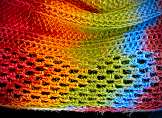 Ravelry Project page for Bosni-Moiré Moebius