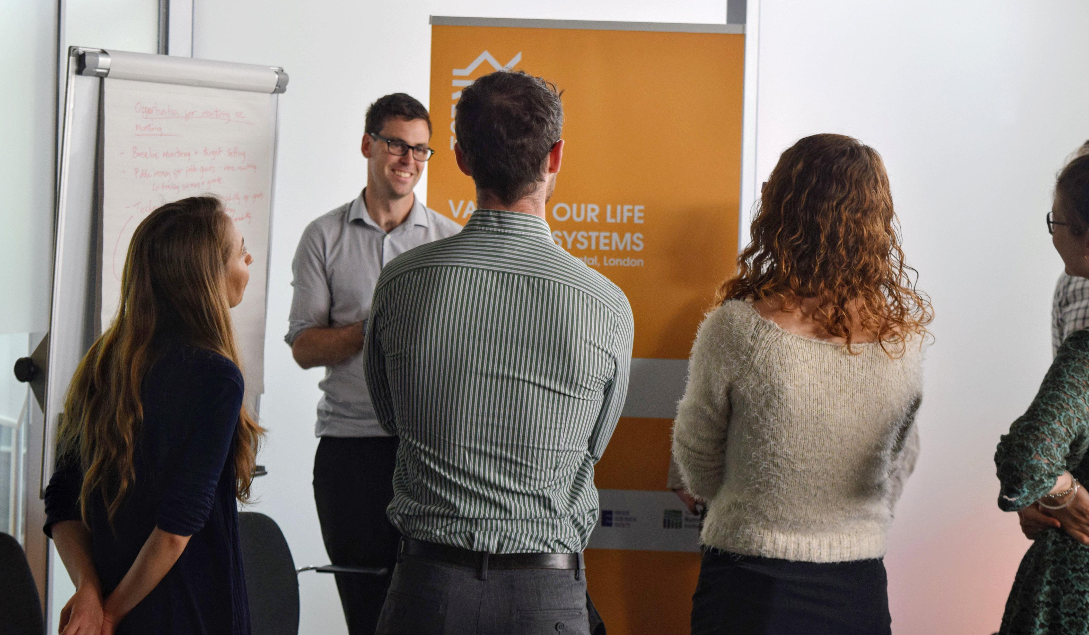 Delegates at the UKEOF workshop. Photo by Matt Harwood, Royal Society of Biology