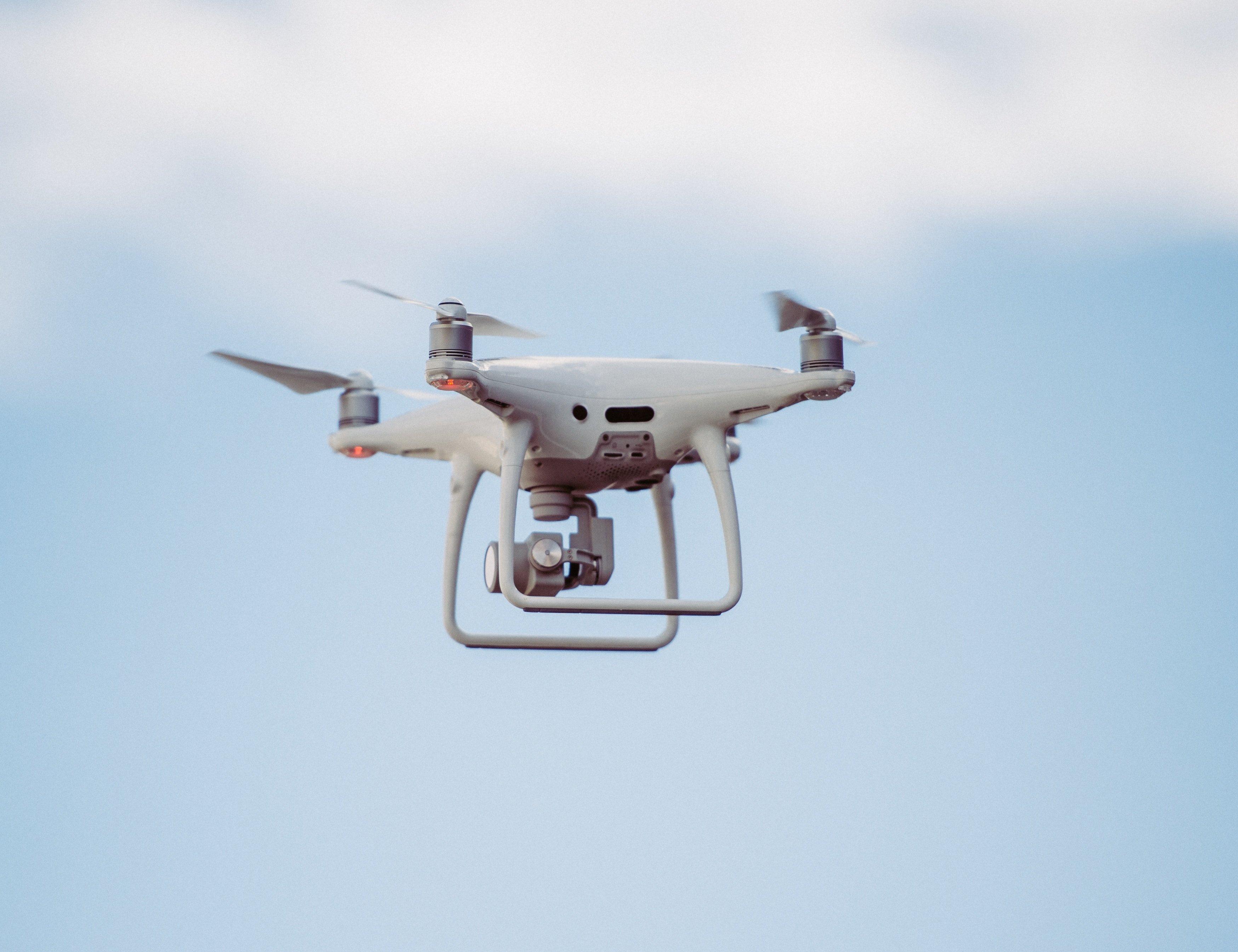 Drone in flight. Photo by Annie Spratt on Unsplash