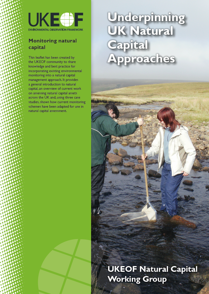 UKEOF Natural Capital leaflet