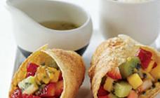 Fruity salsa tortillas