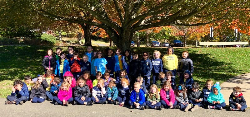 K-3 Trip to Longstreet Farm Group Photo