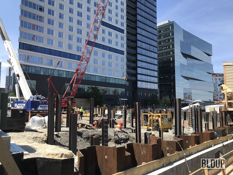 Foundation Preparation Continues for St. Regis Residences, Boston