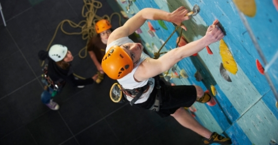 Climbing Skills Course & Lead Climbing Skills Course