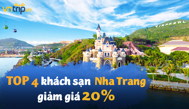 TOP 4 khách sạn Nha Trang đang ưu đãi 2O%🌴🌴