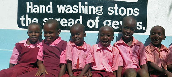 Just a Drop water charity project in Kenya