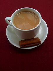 A nice cup of tea and biscuit