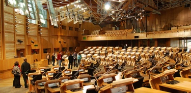 Scottish Parliament - main chamber