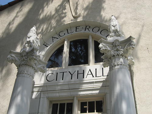 "Image of ER City Hall courtesy of ""Big Orange Landmarks,"" click through to read all about it!"