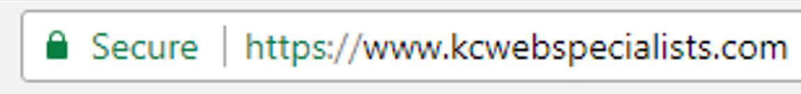 Kansas City SSL Web Design Updates