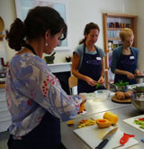 Raw Food workshops with Aradhana at Demuth's Vegetarian Cookery School, April & June 2014