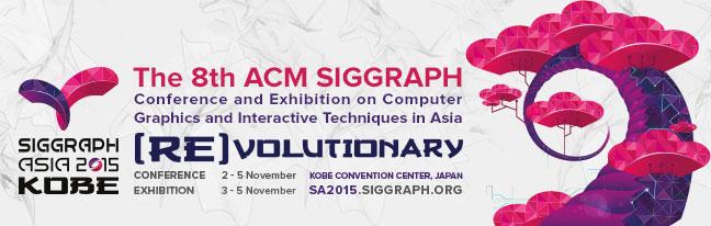 Siggraph Asia 2015 Kobe