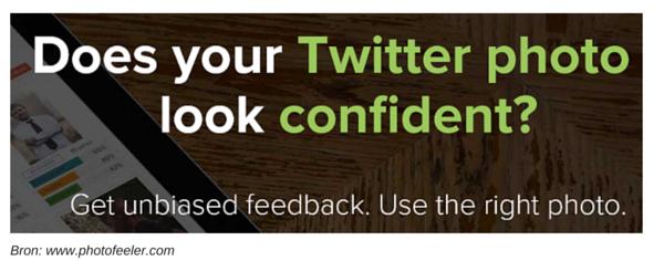 Wekt je Twitterfoto vertrouwen?