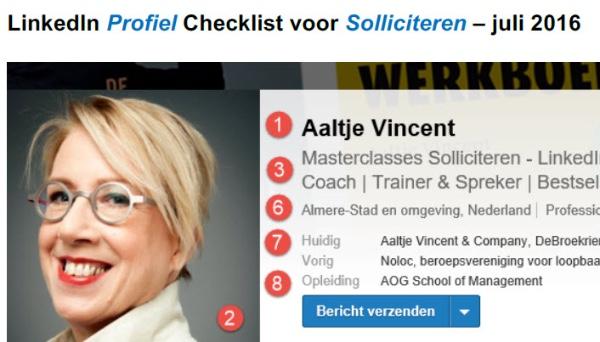 De LinkedIn Profiel Checklist voor Solliciteren