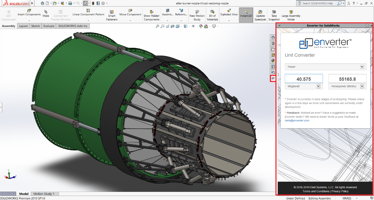 Enverter for SolidWorks