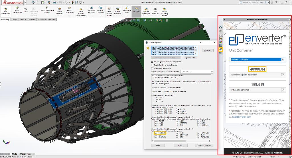 Enverter for SolidWorks