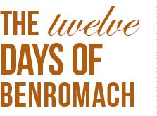 THE twelve DAYS OF BENROMACH