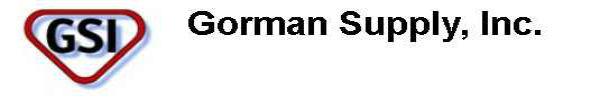 Gorman Supply, Inc. Newsletter