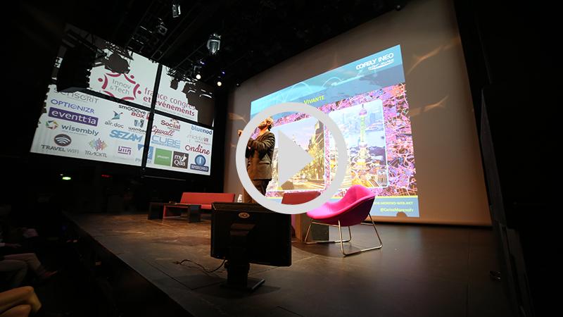 """Keynote """"Smart Cities : quand la ville devient événement"""" par Carlos Moreno (extrait)"""
