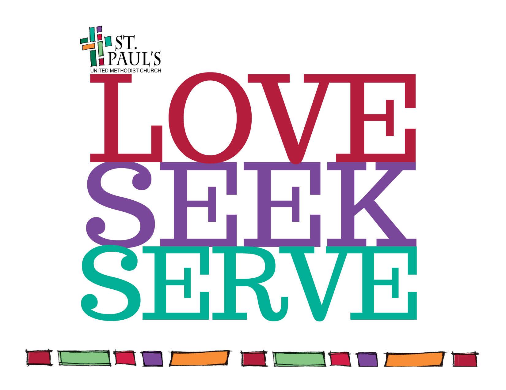 Love, Seek, Serve Jar