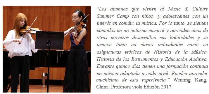 escuela de musica reina sofia  ¡Conoce el Music & Culture Summer Camp!