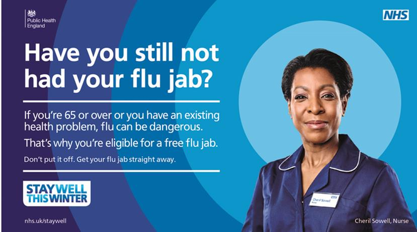 Have you still not had your flu jab?