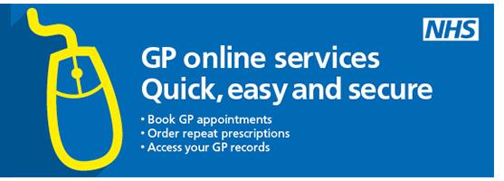 GP online banner