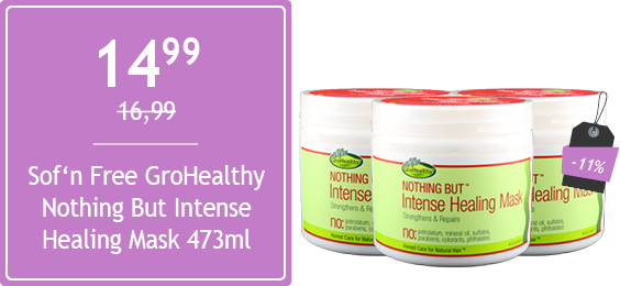 Sof'n Free GroHealthy Nothing But Intense Healing Mask 473ml