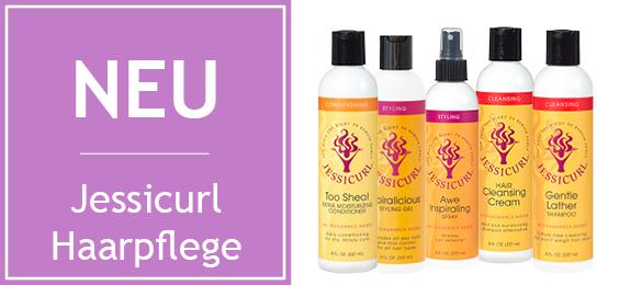 Neues Produkt: Haarpflege von Jessicurl