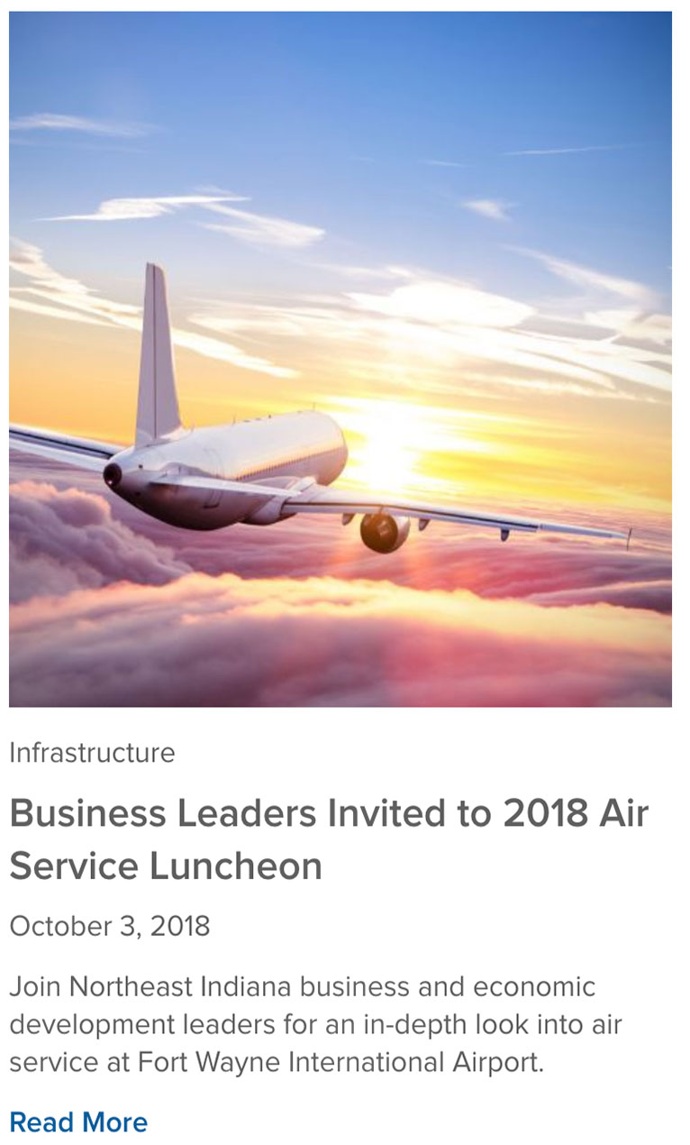 Air Service Luncheon