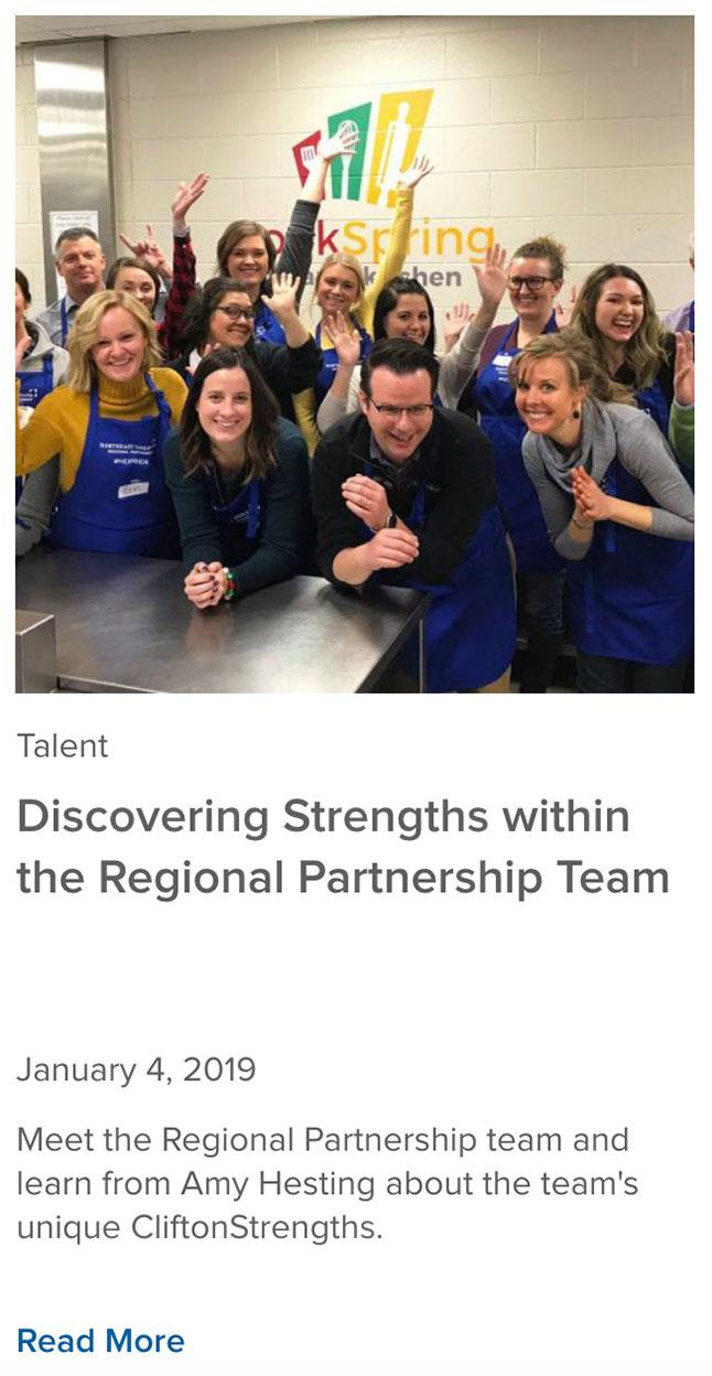Regional Partnership Team