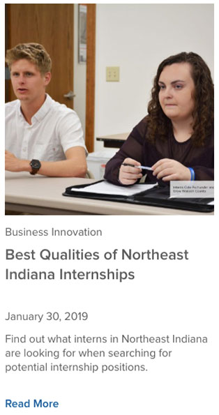 Northeast Indiana Regional Internship Program