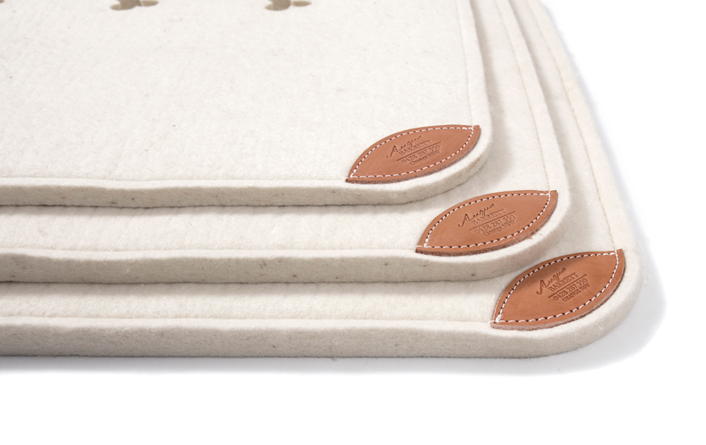Cleanskin Saddle Pad - three different thicknesses