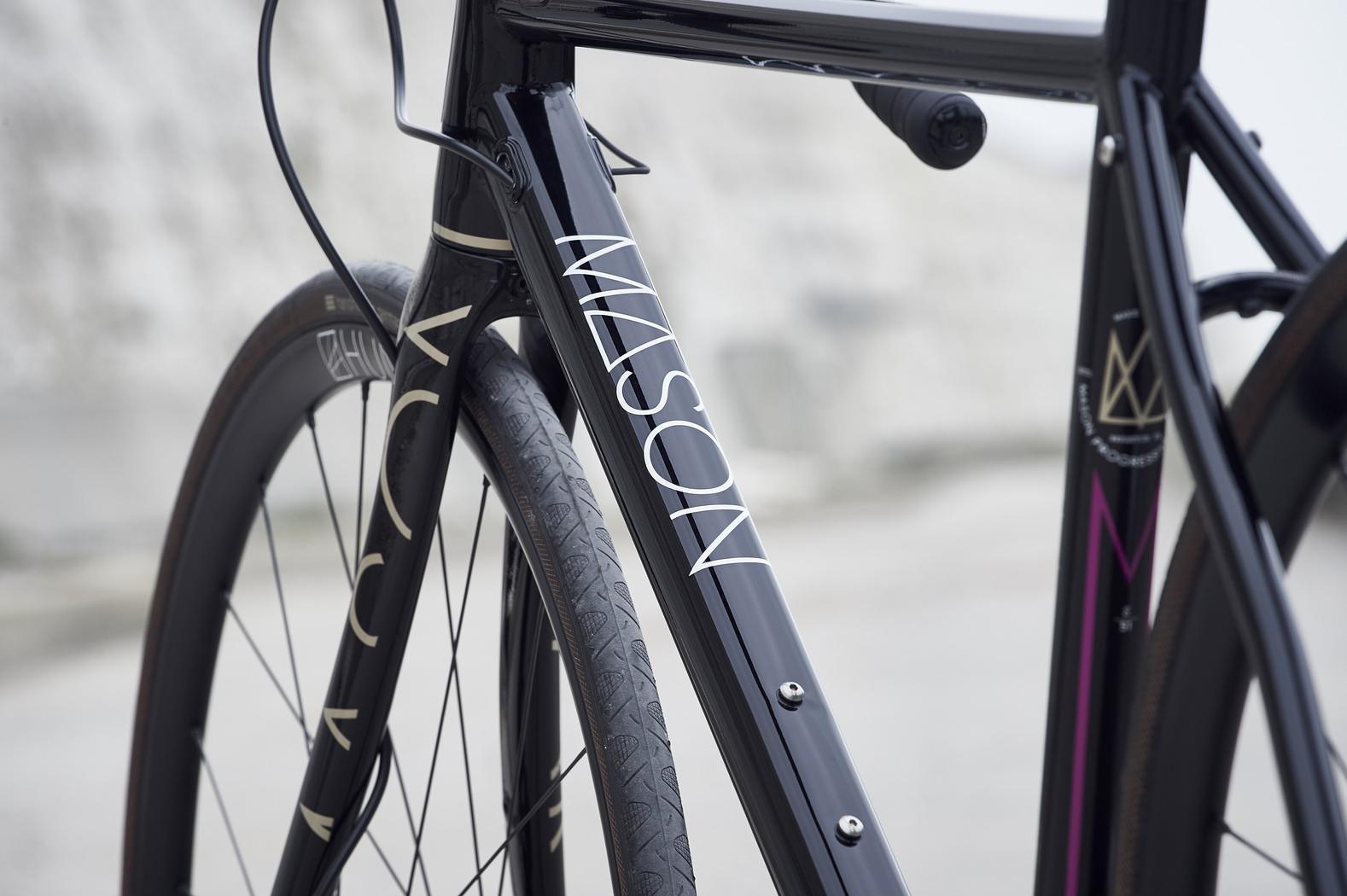 Mason Bokeh bike with Hunt wheels
