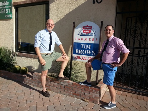 Tucson GLBT Chamber Out and About Hosted Farmers Insurance, May 2015
