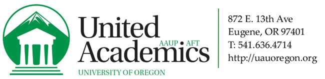 United Academics - University of Oregon AAUP-AFT