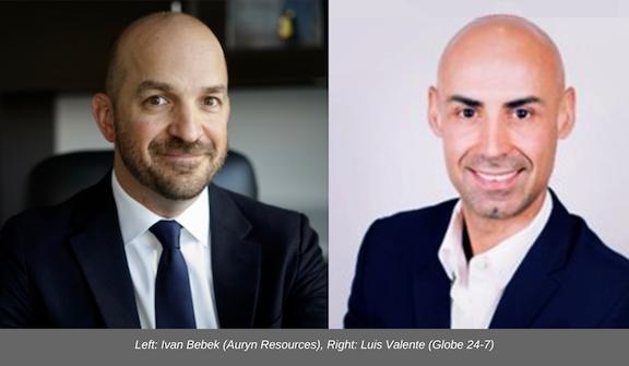 Ivan Bebek Luis Valente Auryn Resources
