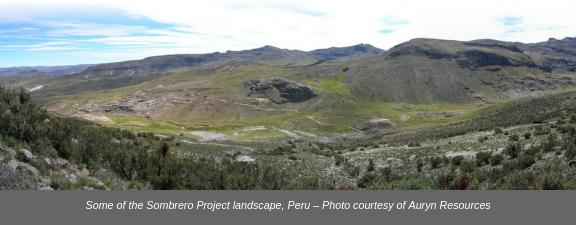Auryn Sombrero Project Landscape