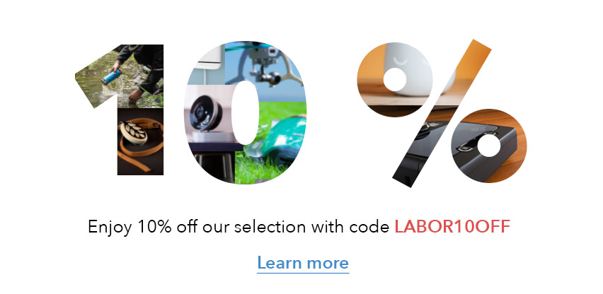 Enjoy our Labor day offers!