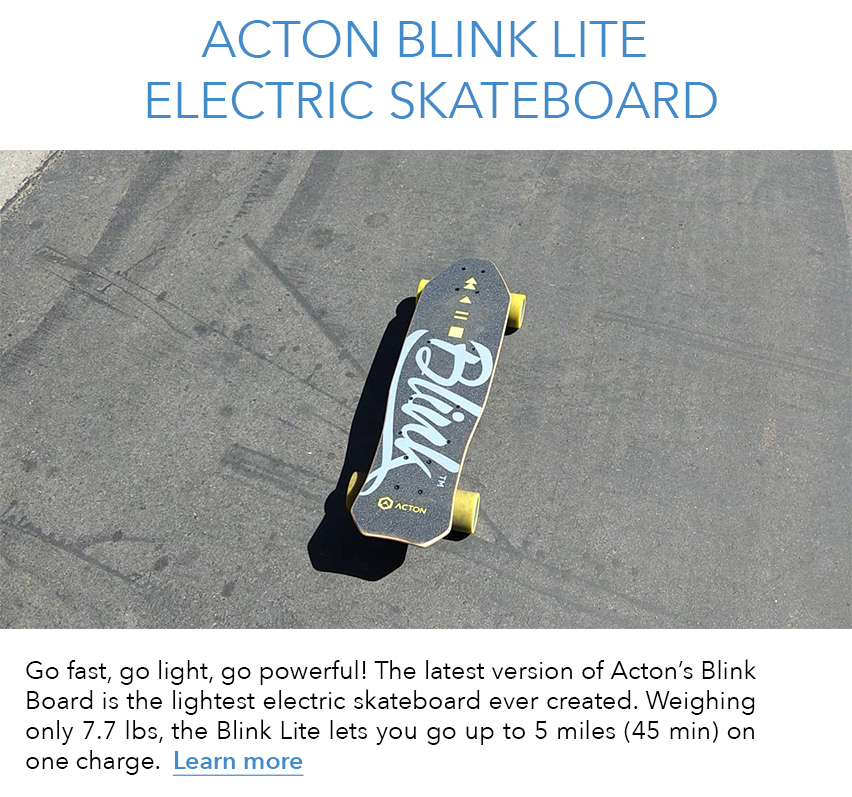 Discover Acton Blink Lite