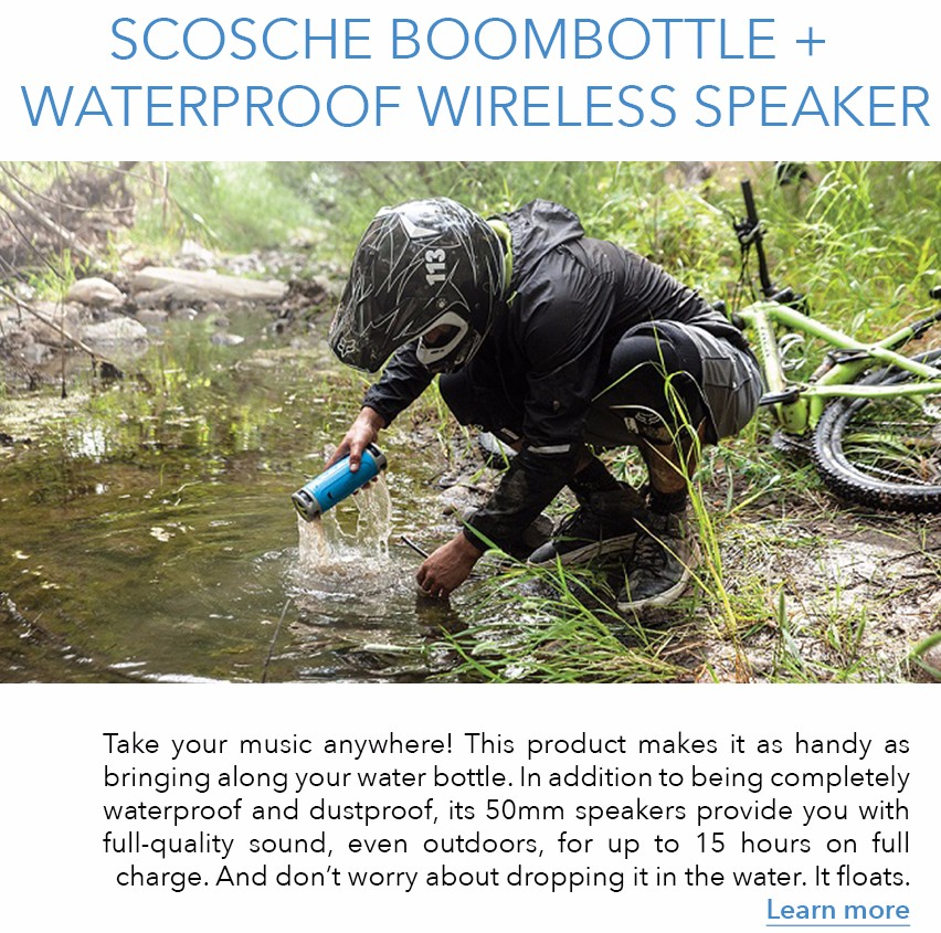 Discover Scosche Boombottle Plus