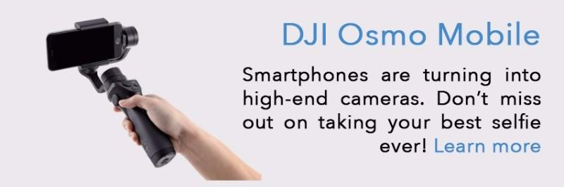 DJI Osmo + Gimbal System