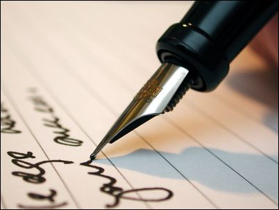 Image of Pen and Letter