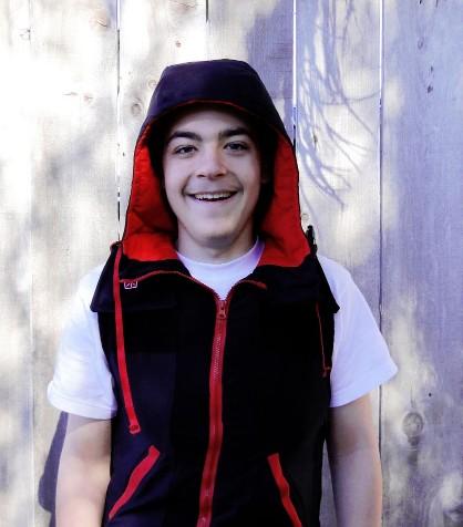 Danny in his Snug Vest!