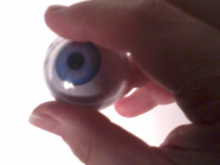 fake eyeball