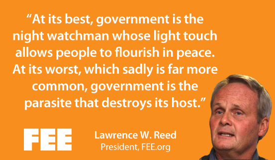 FEE President Lawrence Reed