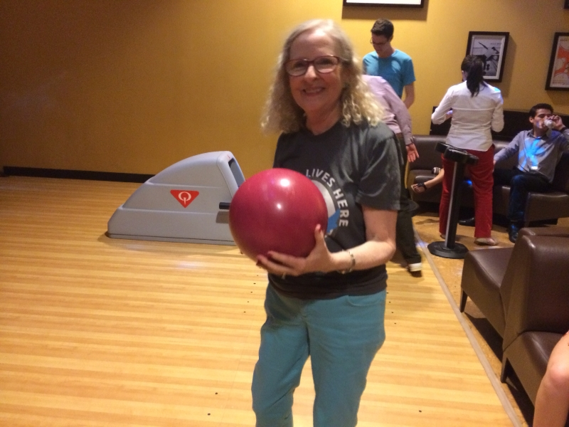 Sharon Harris - Bowling