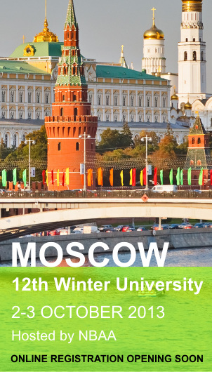 Save the Date: 12th Winter University Moscow