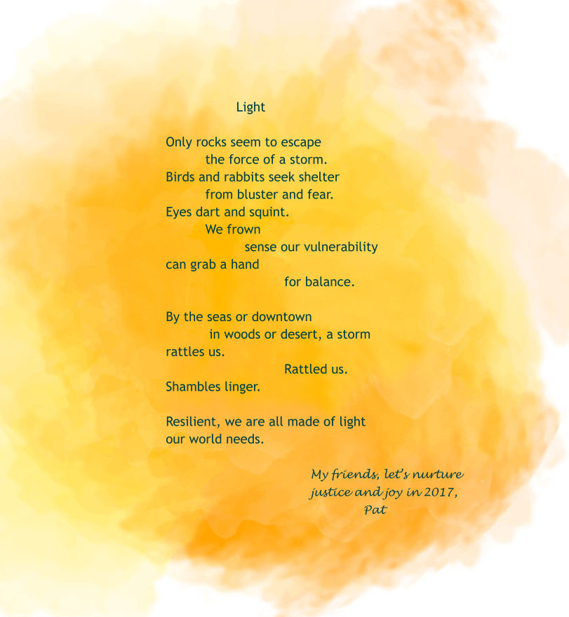A 2015 holiday poem from Pat Mora